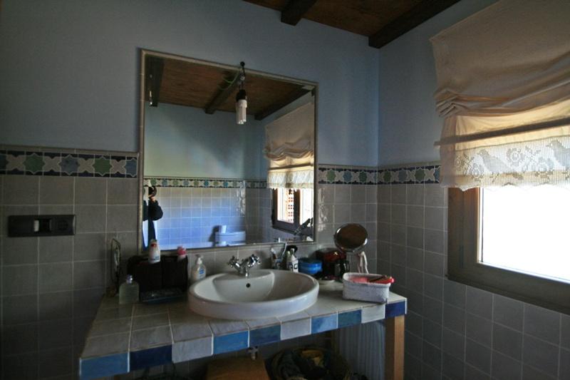 Baño Rustico De Obra:Baños rusticos realizados en Hervededo (Camponaraya)