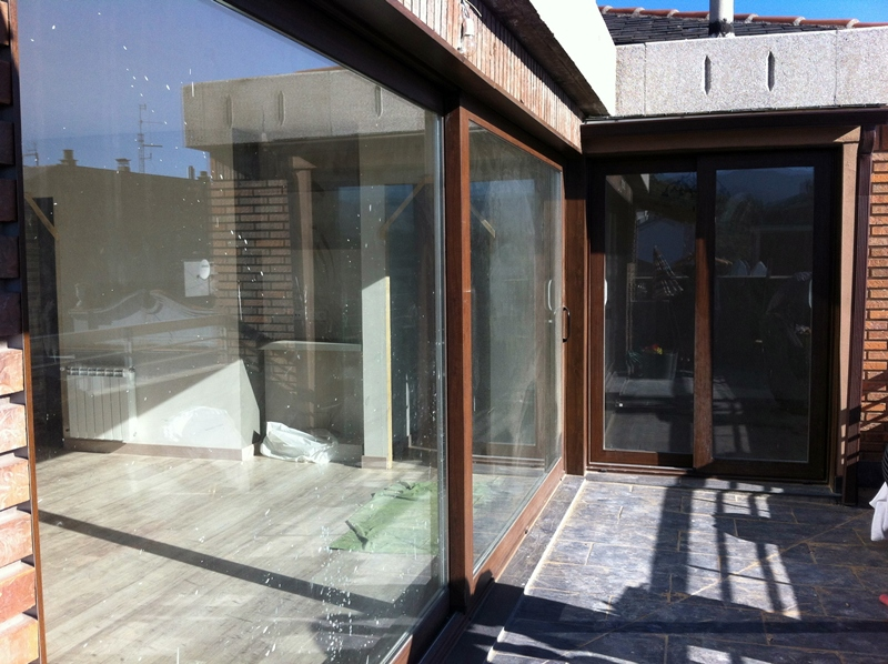 ventanal terraza